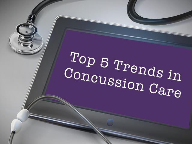 Top 5 Trends in Concussion Care